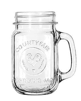 Libbey Glass Drinking Jar