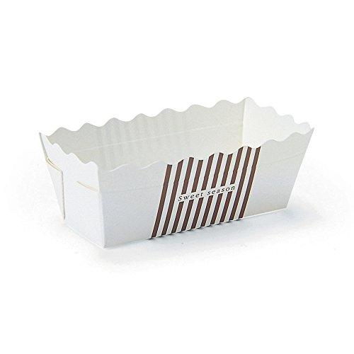 Welcome Home Brands Mini Rectangular Loaf Baking Pans Sweet Season Brown 32l x 12w x 14h Case500