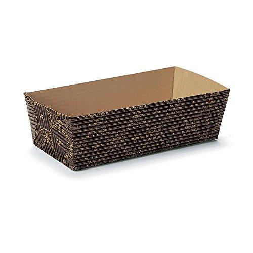 Welcome Home Brands Rectangular Loaf Baking Pans Black Crest 69l x 26w x 18h Case250