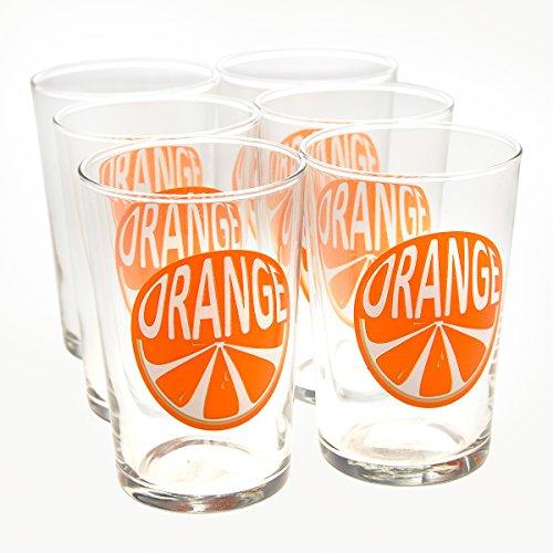 6pk Kids 7oz Fruit Juice Glasses Luminarc Conique Drinkware Set Dishwasher Safe