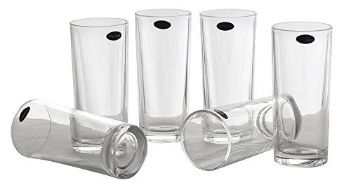 Amlong Crystal Lead Free Water or Juice Glasses - 10 oz Set of 6