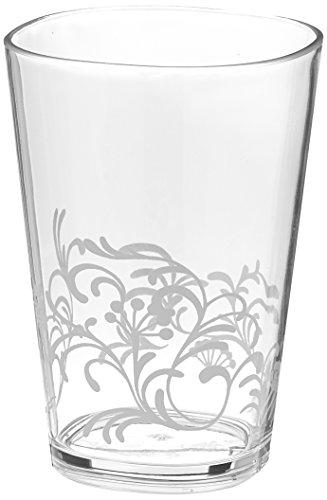 Corelle Coordinates by Reston Lloyd Boutique Cherish Acrylic Juice Glasses 8-Ounce Set of 6