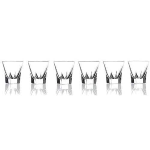 Lorenzo Imports 239860 RCR Fusion Crystal Shot Glasses