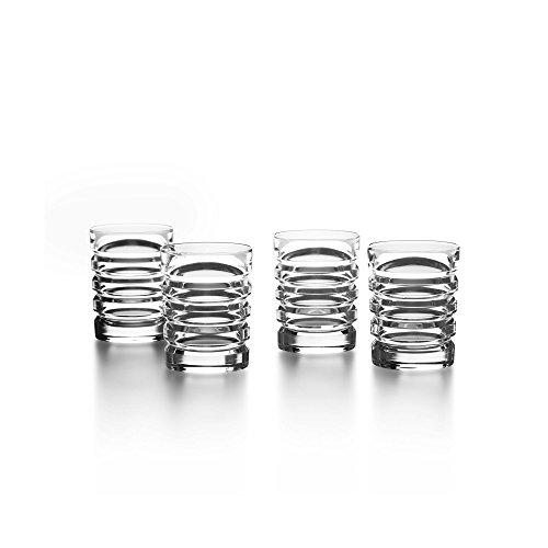 Ralph Lauren Metropolis Set of 4 Crystal Shot Glasses