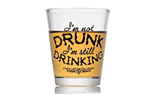 Shot Glass Gift Funny Im Not Drunk Novelty Shotglass
