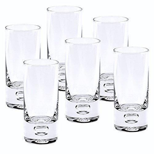 Badash Galaxy Vodka Shot Glass 2-Ounce Set of 6