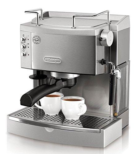 DeLonghi EC702 15-Bar-Pump Espresso Maker Stainless
