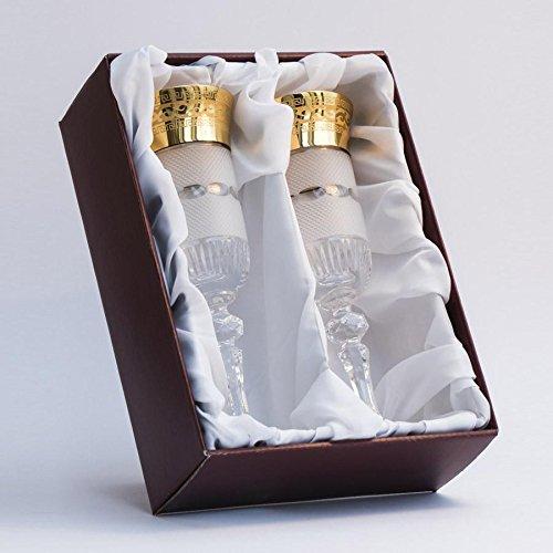 Gold Decor Champagne Flute Glasses Set Of 2  202oz Each