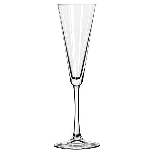Libbey 7552 Vina 65 oz Trumpet Flute Glass SET OF 6 w HHS Party Picks