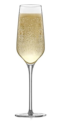 Libbey Signature Greenwich 4-piece Champagne Flute Glass Set