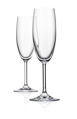 RONA Gala Champagne Flute Glass 6 oz Set of 6