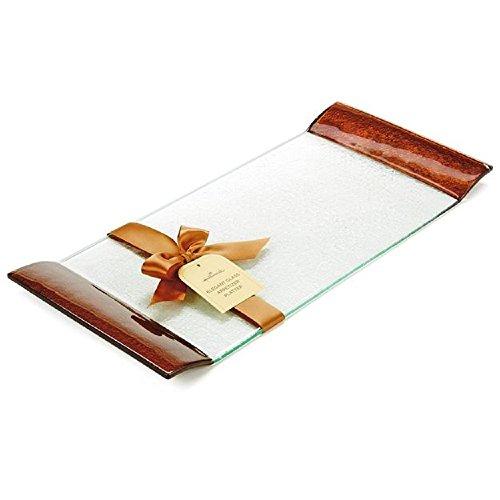 Hallmark 1LPR1436 Elegant Glass Appetizer Platter
