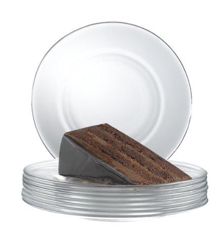 Arc International Luminarc Directoire Clear Dessert Plate Set of 12