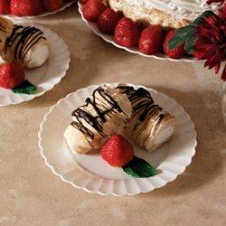 EMI-REP6CL 6 Clear Dessert Plates 180Case