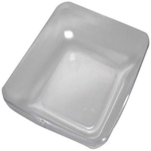 Homeford Appetizers Dessert Plastic Plates Mini Clear 24-Pack