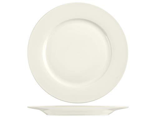 H&H 832437 Set of 12 Dinner Plates New Bone China 26 cm