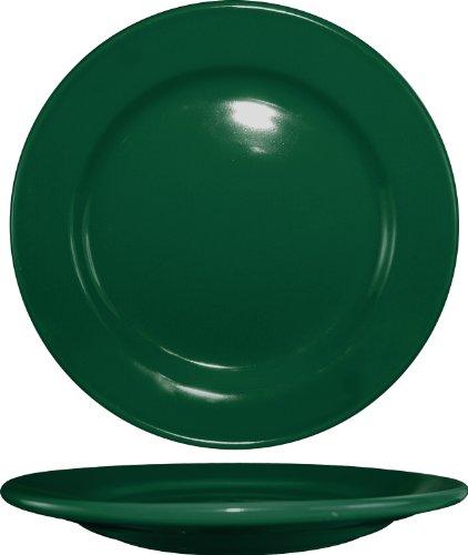 ITI CA-21-G Cancun 12-Inch Dinner Plate 12-Piece Green