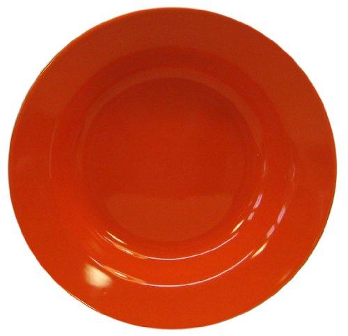 Waechtersbach Fun Factory II Orange Soup Plates Set of 4
