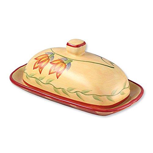 Pfaltzgraff Napoli Covered Butter Dish