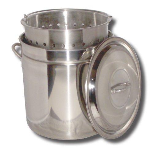 King Kooker KK36SR Ridged Stainless Steel Pot 36-Quart
