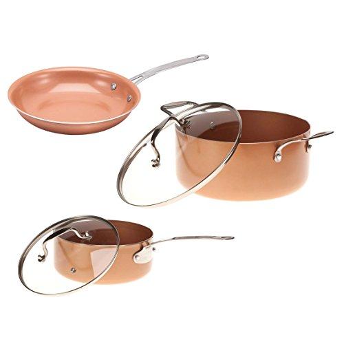 Ceramic Non-Stick Pans Set
