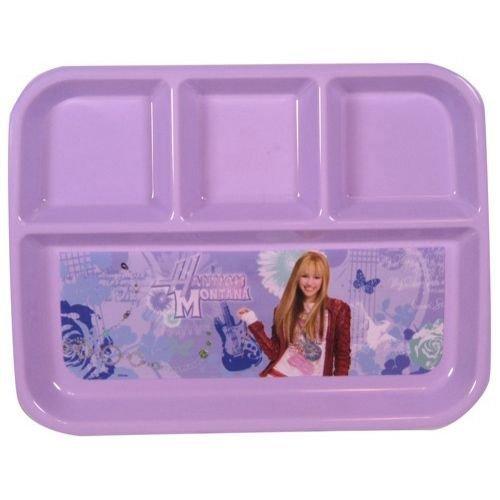 Disney Hannah Montana 4 Section Divided Platter Plate