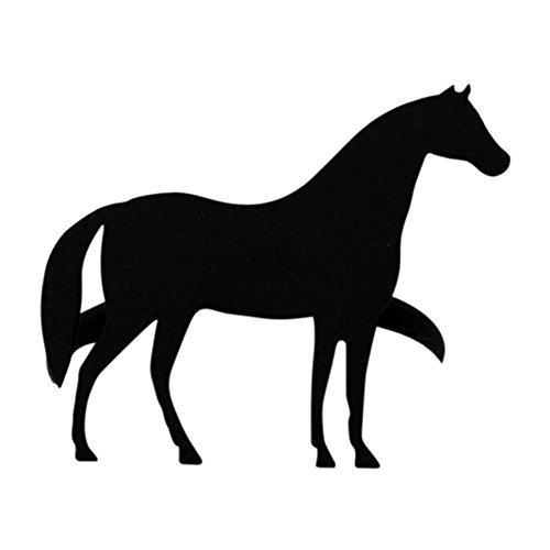 Iron Horse Table Napkin Ring - Heavy Duty Metal Thanksgiving Napkin Ring Table Napkin Holder