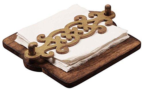 SouvNear 190803095515 Wooden Napkin Holder