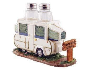 SaltPepper Napkin Holder Set Pop Up Camper RV 8-inch Kitchen Decor