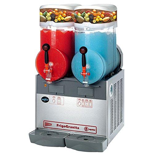 Cecilware FrigoGranita GIANT2 4 Gallon Twin Slush Machine - 120V