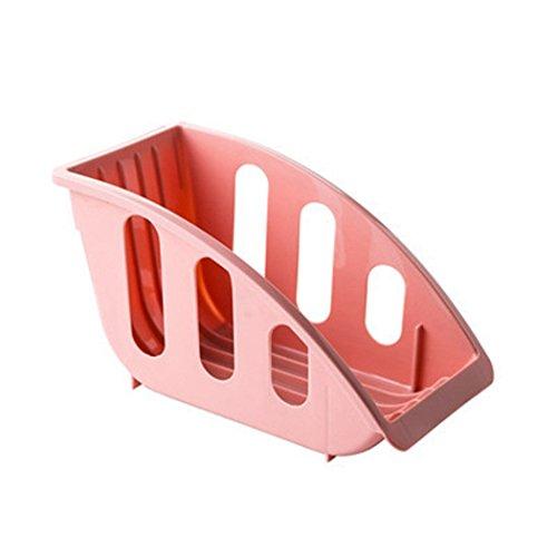 Prettysell Plastic Kitchen Tableware Dish Plate Drainer Drying Storage Rack Organizer Shelf Holder Stand