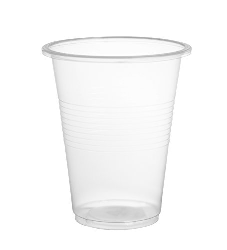Crystalware 9 oz Plastic Disposable Cups Flexible and Crack Resistant 80 count Bargain Pack