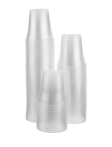 Disposoware 5 oz Plastic Disposable Cups Flexible and Crack Resistant 100 count Bargain Pack