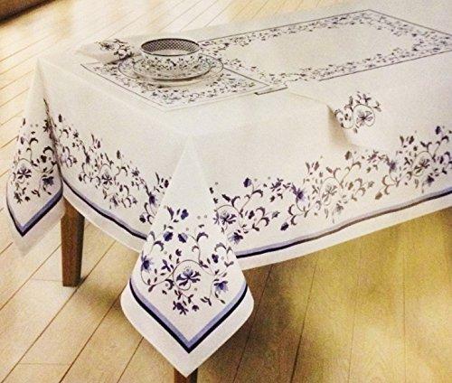 Blue Portofino Table Linens by Spode 60x120 Tablecloth
