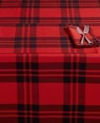 Homewear Blitzen Plaid 60 x 120 Tablecloth