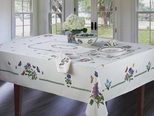 Portmeirion Avanti Linens Botanic Garden 60X120 Tablecloth Ivory