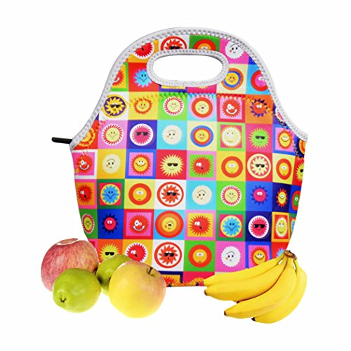 Insulated Neoprene Lunch Bag For Kids Girls Boys Food Container Cooler Warm Pouch For School Picnic