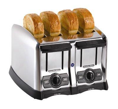 Hamilton Beach 24850 Hamilton Beach 4 Slice Extra-Wide Slot Commercial Toaster Chrome 120 Volts