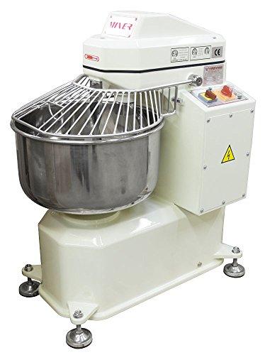 American Eagle Food Machinery AE-1220 40 quart Dual Motor Spiral Dough Mixer 26 lb Flour44 lb Dough 220V60Hz3pH