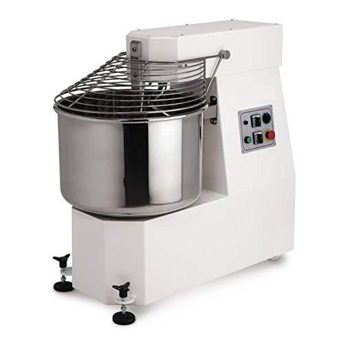 MORETTI FORNI iM602 Spiral Mixer 60 Kg Dough 40 Kg Flour 75 Lts bowl Fixed Head 220603-2 Speeds ETL NSF