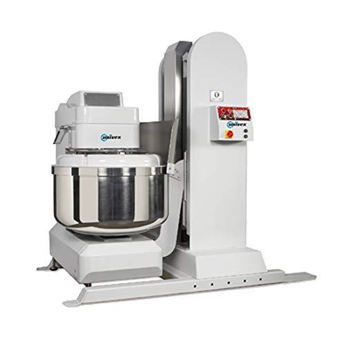 Univex SL120LH Silverline Spiral Mixer 265 lb Dough Capacity with Hopper Height Lifter