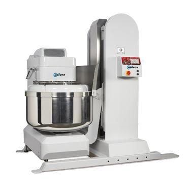 Univex SL200LH Silverline Spiral Mixer 440 lb Dough Capacity with Hopper Height Lifter