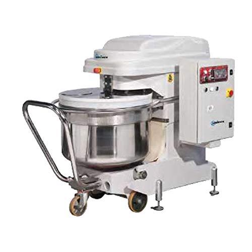 Univex SL300RB 423 Quart Silverline Spiral Mixer 660 lb Dough Capacity and Bowl Dolly