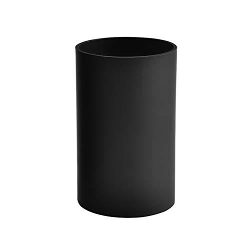 BESTONZON Plastic Kitchen Utensil Storage Drainer Holder Black Chopsticks Holder Tableware Drying Canister Cutlery Organizer