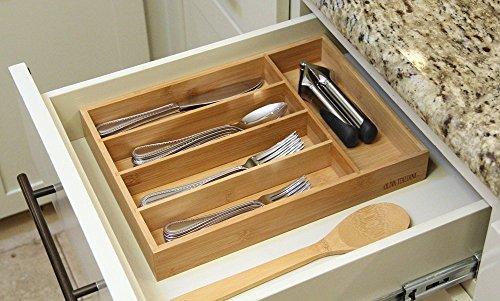 Oliva Italiana Bamboo Cutlery Tray