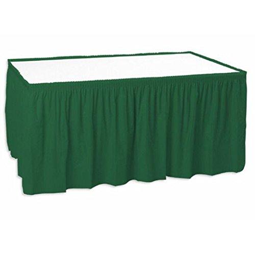 Hunter Green Table Skirt