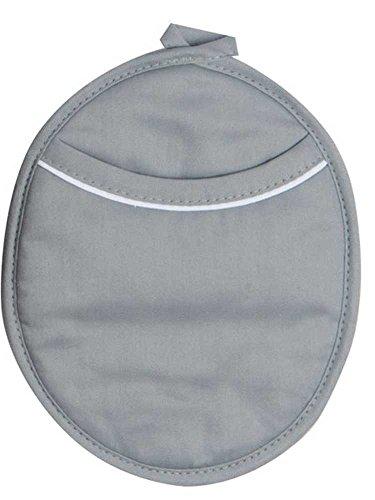 Gray Mist Pocket Potholder with Neoprene Backing
