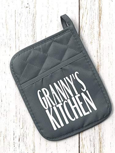 Pocket Pot Holder - Grannys Kitchen
