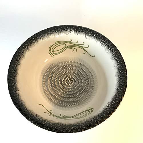 BonCera Ceramic Grater Salad Bowl -BB211-2 Years Warranty Stoneware Ceramic
