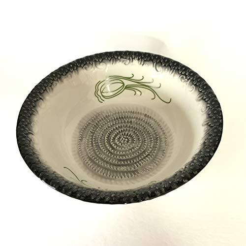 BonCera Ceramic Grater Salad Bowl Hand-Made BB-011